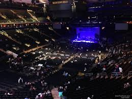 concert seat view for madison square garden section 206