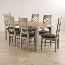 extending solid oak dining table 6 chairs. full image for solid oak dining table and 6 leather chairs hampton extending t