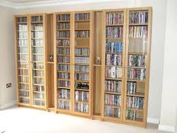 dvd shelf with doors storage cabinet