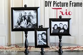 diy picture frame trio crafts unleashed l0