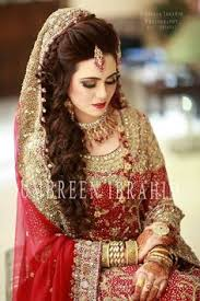here you can find latest stani bridal hairstyles 2017 images and video for barat walima and mehndi day functions