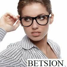<b>Vintage Transparent White Glasses</b> Full Rim Eyeglass Frames men ...