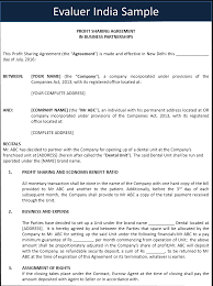 Partnership Agreement Between Companies Agreement Templates