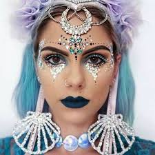 be modern gypsy how to wear face gem makeup every occasion