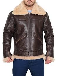 b3 raf shearling er jacket