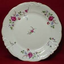 Rose Pattern China Classy WALBRZYCH China SHERATON ROSE Pattern Dinner Plate 44844848 EBay