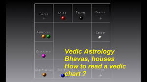 Vedic Astrology Bhavas Houses How To Read A Vedic Chart