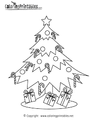 Christmas Tree With Presents Coloring Pages Getcoloringpages Com Free Coloring Pages Of Christmas Treesl L