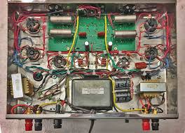 vacuum tube audio st 120 tube power amplifier review vta st 120 tube amp internal components