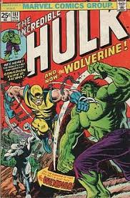 wolverine made his full debut in the incredible hulk 181 nov 1974 cover art by herb trimpe with alterations by john romita sr the character s