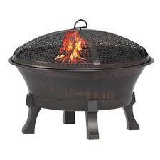 del oro cast iron fire pit