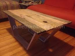 DIY Modern Pallet Coffee Table
