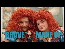 disney s princess merida from brave makeup tutorial kittiesmama you