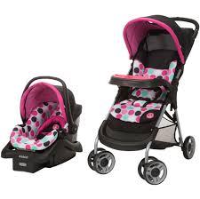 disney baby lift stroll plus travel system minnie dotty com