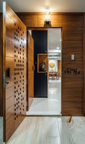 Main Entrance Foyer Designs Navpad A New Path With Kaleidoscope Of Tints Door Design
