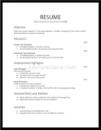 Federal Jobs Resume Sample | Nfcnbarroom.com