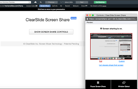 Screen Sharing With Audio Screen Share Clearslide