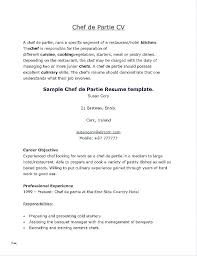Resume Format For Cook The Best Resume Resume Format For Cook Chef ...