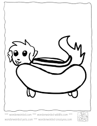 Dog Food Coloring Pages At Getdrawingscom Free For Personal Use