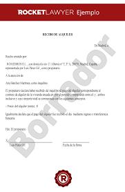 Modelo De Recibo Recibo Alquiler De Vivienda