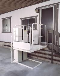 Los Angeles Vehicle Lifts TriLift Carrier Hitch Mobility - Exterior wheelchair lifts