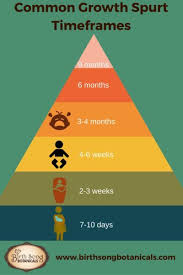 Kellymom Growth Spurt Chart 4 Signs Your Baby Is Having A Growth Spurt Baby Growth