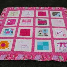 Hand Crafted Baby Clothes (T-Shirt) Memory Quilt - Large Size ... & Baby Clothes Memory (T-Shirt) Quilt by Valerie Coles Adamdwight.com