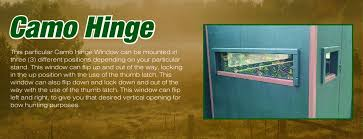 PlexiGlass Or Lexan Deer Blind And Stand Plexiglass Deer Blind Windows