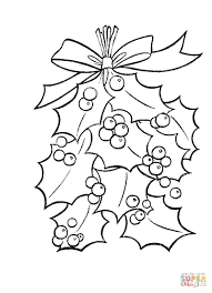 Small Picture Best Mistletoe Coloring Pages 41 For Site With For glumme