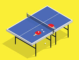 ping pong table clip art. Unique Ping Isometric Ping Pong Still Life Illustration Table Tennis Racket Vector Art  Intended Pong Table Clip Art