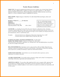 Objective For Teacher Resume 100 elementary teacher resume objective gcsemaths revision 80