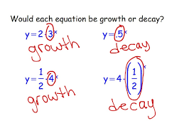 7 7 exponential growth and decay math algebra exponential growth and decay showme