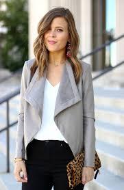 d front faux leather jacket
