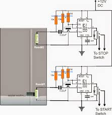 borewell motor pump starter controller circuit electronic the diagram above shows a very straightforward set up using a couple of identical ic 555 monostable stages