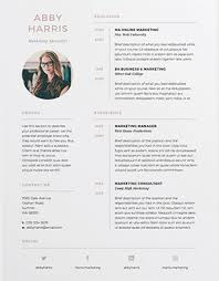 3 pages resume/CV Abby