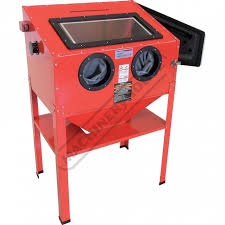 sandblasting cabinet recommended to be used with dust collector s2891 of 14