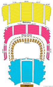 Lion King Cleveland Seating Chart Severance Hall Seating Chart