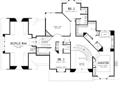 Country House Plan   Bedrooms and   Baths   Plan Second Floor Plan