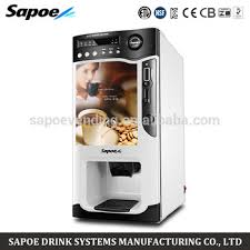 Coffee And Hot Chocolate Vending Machines Adorable Commerical Coin Operated Fullyautomatic Coffee Hot Chocolate