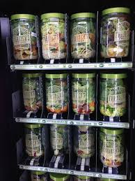 Salad Vending Machine Chicago Impressive Would You Eat A Salad From A Vending Machine One Mile At A Time