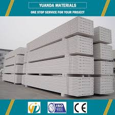 lightweight easy install precast concrete exterior wall panel