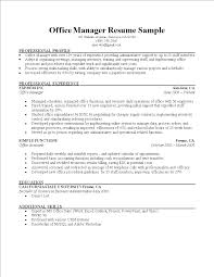 Cv Ms Office Office Manager Cv Templates At Allbusinesstemplates Com