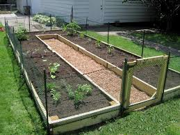 how to build a garden. How To Build A U-Shaped Raised Garden Bed .