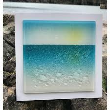 fusion glass wall art 1