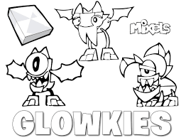 Lego Mixels Coloring Pages Download Of Incredible Mixel Mixelsoring