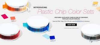 ... Introducing Pantone Plastic Chip Color Sets ...