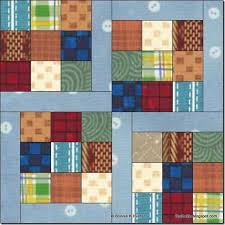 697 best quilts images on Pinterest | Homes, Cloth bags and Facts & Another great block for Scrappy - Dancing Nine Patch - Bonnie Hunter You  can use ANY fabrics for this quilt – don't limit yourself just because I  used ... Adamdwight.com