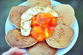 vegan buckwheat banana pancakes oil gluten free