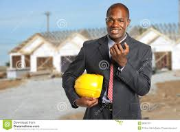 Buiding Manager Building Manager At Construction Site Stock Image Image Of Latin