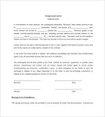 Promissory Note Template For Family Member Iou Template Free Magdalene Project Org